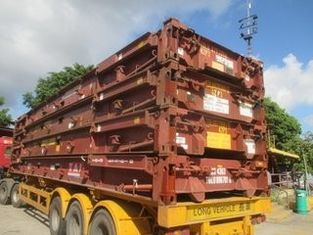 Second Hand Purchase Used Shipping Container Flat Rack 7-8 Ke Baru