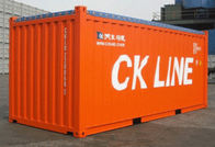 Second Hand Open Top Shipping Container 40OT Buka Top Sea Container
