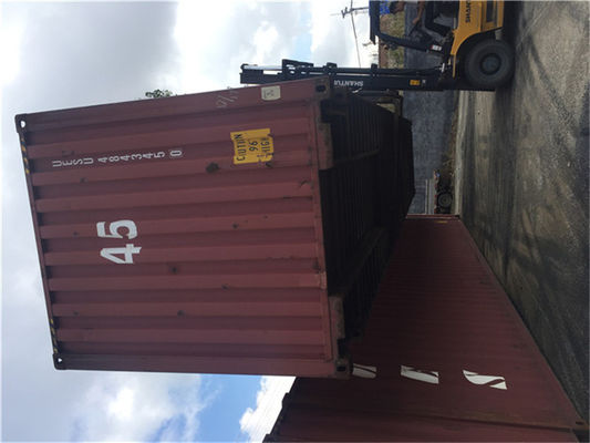 Cina 20 Feet 2nd Hand Shipping Containers / Used Steel Containers Distributor